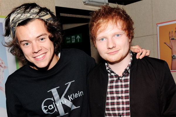 Harry Styles e Ed Sheeran