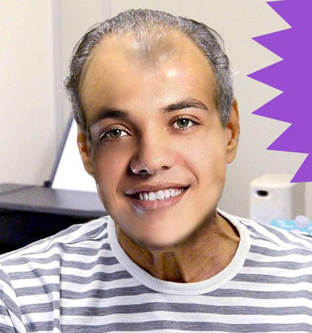 Como seria o Wesley Safadão com outros penteados?