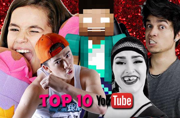 TOP 10 Youtube: Veja os vídeos dos youtubers mais acessados no Brasil!