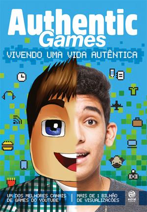 Capa do livro Authentic Games