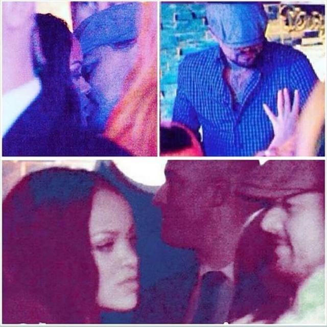 Rihanna e Leonardo DiCaprio são flagrados juntos em boate
