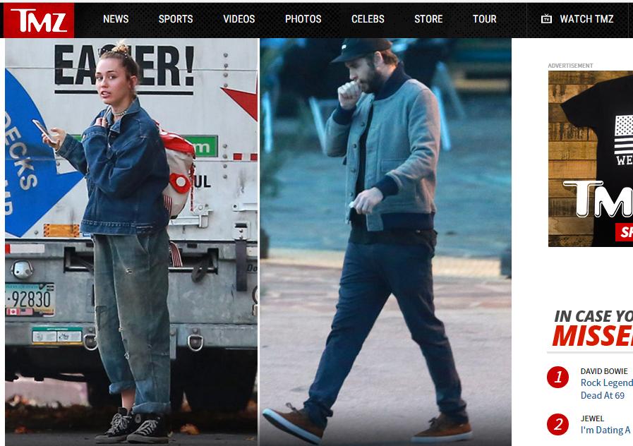 Miley Cyrus se muda para casa de Liam Hemsworth