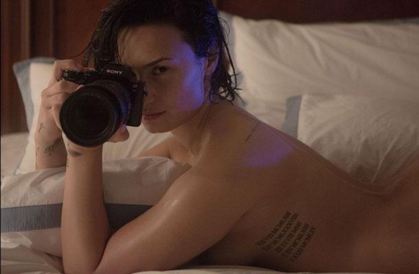 Demi Lovato no ensaio da Vanity Fair