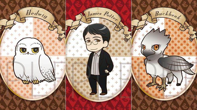 Versão em anime de Harry Potter é liberada no Japão!