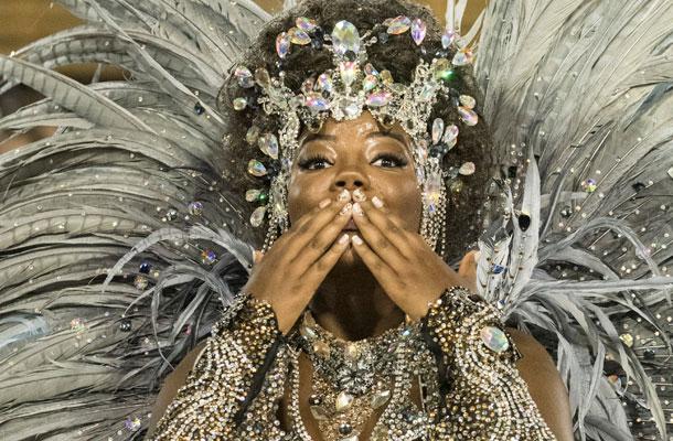 Ludmilla no Carnaval Salgueiro