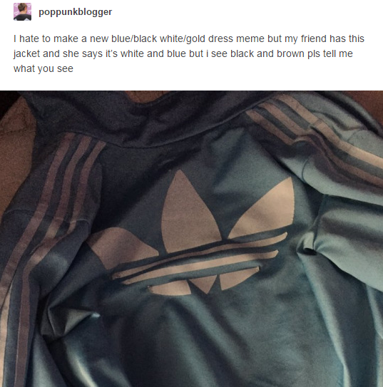 qual a cor da jaqueta