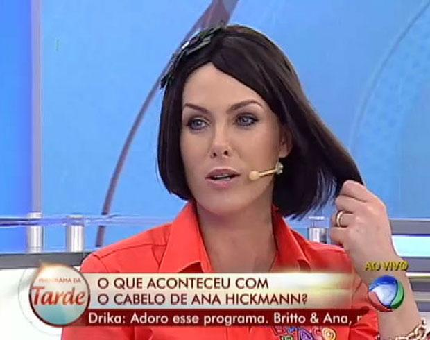 Ana Hickmann morena