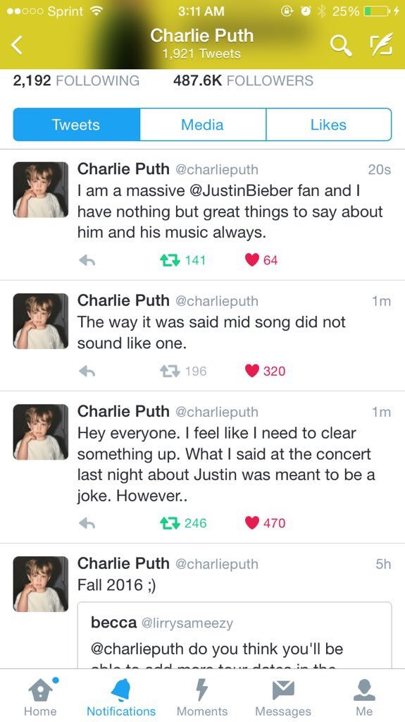 Charlie Puth x Justin Bieber