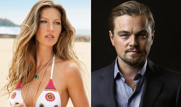 Famosos brasileiros que já ficaram com gringos: Gisele Bündchen e Leonardo DiCaprio