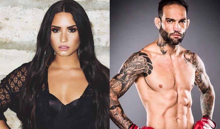 Famosos brasileiros que já ficaram com gringos: Guilherme Bomba e Demi Lovato