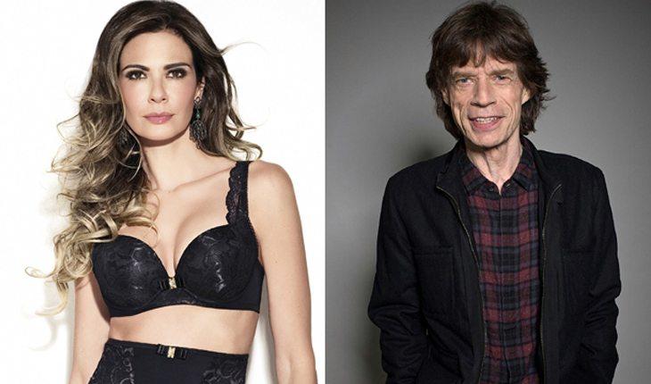 Famosos brasileiros que já ficaram com gringos: Luciana Gimenez e Mick Jagger