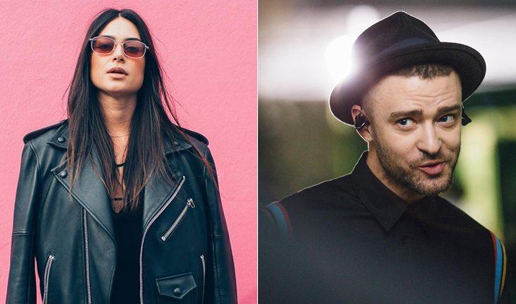 Famosos brasileiros que já ficaram com gringos: Thaila Ayala e Justin Timberlake