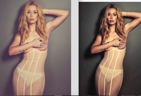 Iggy Azalea critica foto retocada por revista
