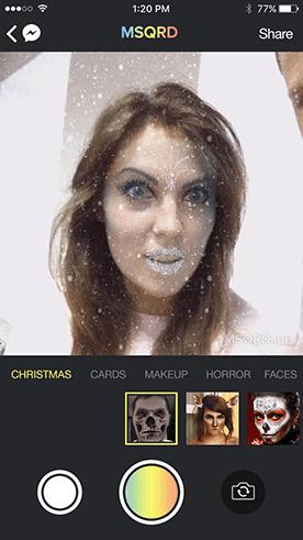 masquerade filtro aplicativo