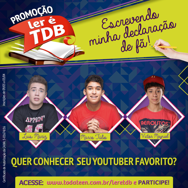 Promoção LER É TDB 2016