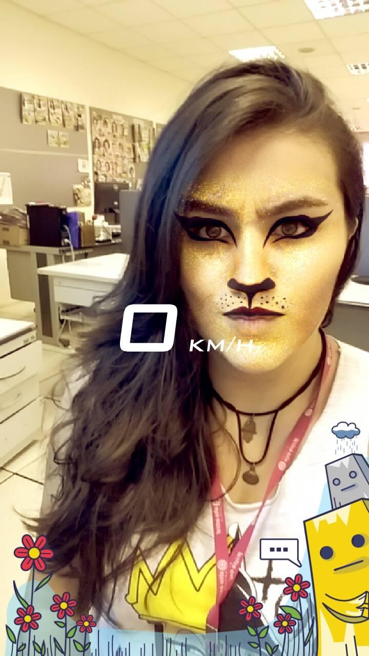 como usar 3 filtros no snapchat