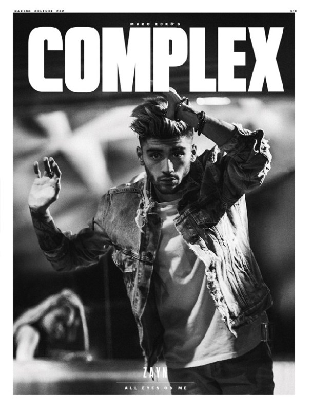zayn malik capa da revista complex