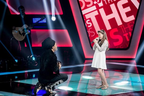 The Voice Kids - Carlinhos Brown e Maria Fernanda da Costa