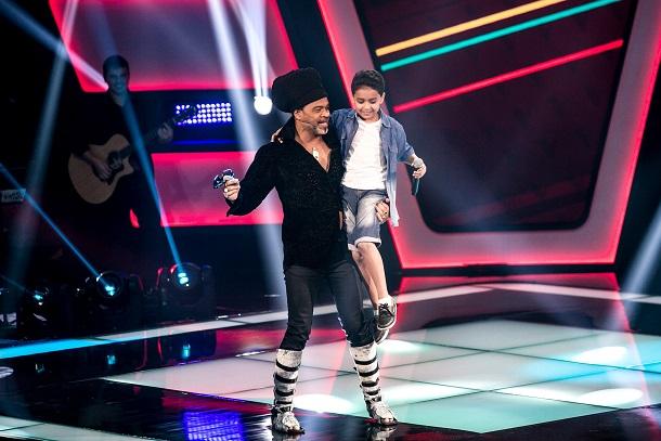 The Voice Kids - Carlinhos Brown e Igor Silveira