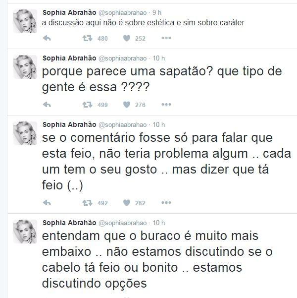 Sophia Abrahão desabafa sobre críticas ao seu visual