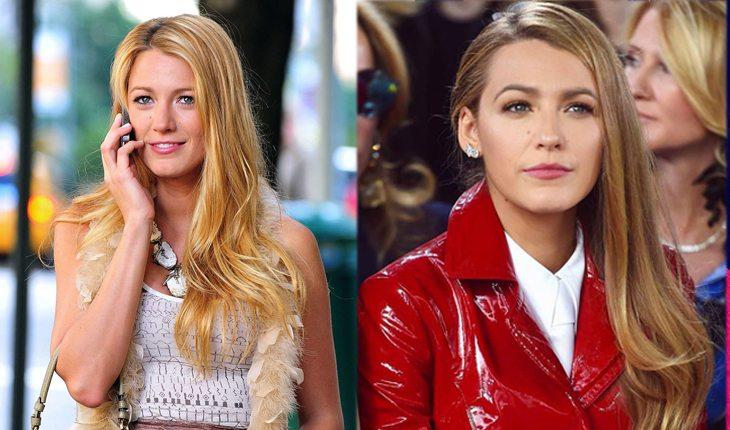 antes e depois de gossip girl: Blake Lively