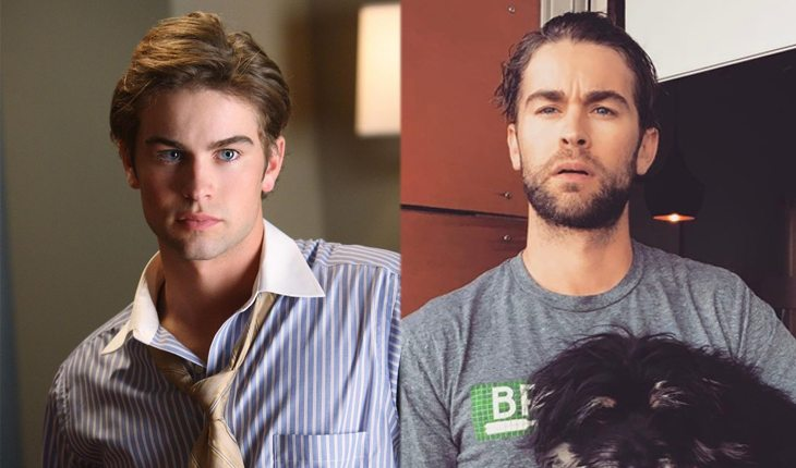 antes e depois de gossip girl: Chace Crawford