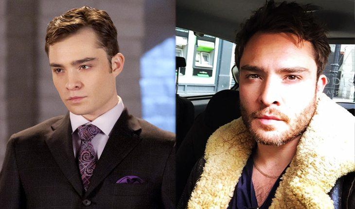 antes e depois de gossip girl: Ed Westwick