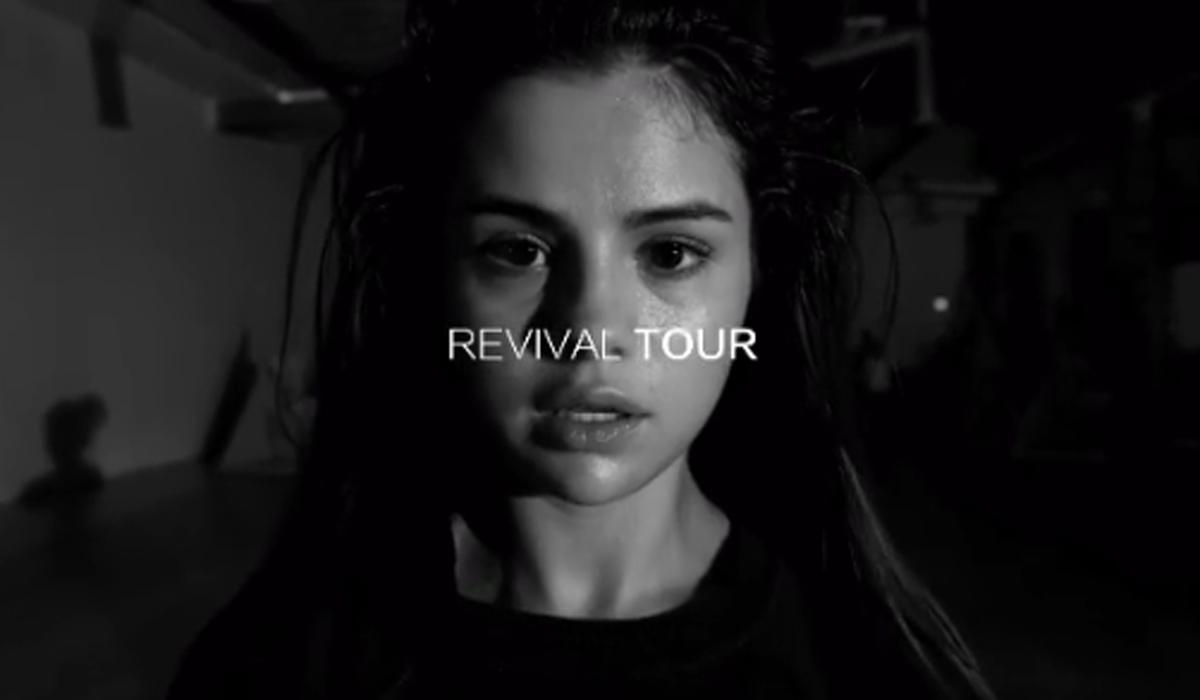 revival tour selena gomez bastidores