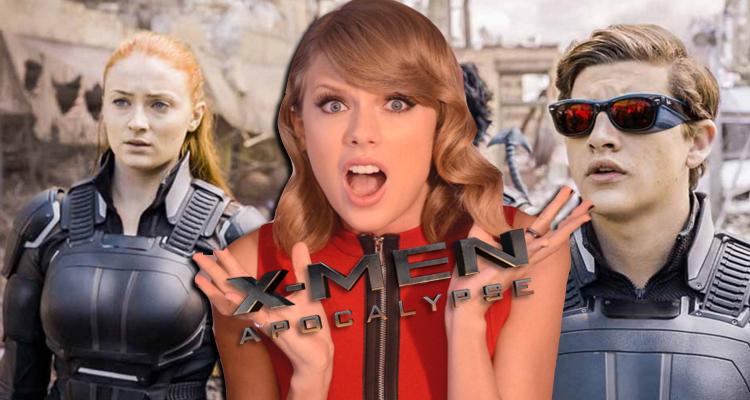 Taylor Swift participará de X-Men Apocalypse?