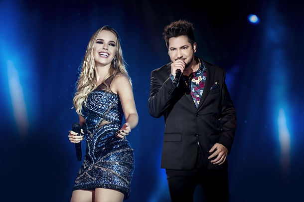 Dupla Thaeme & Thiago em show