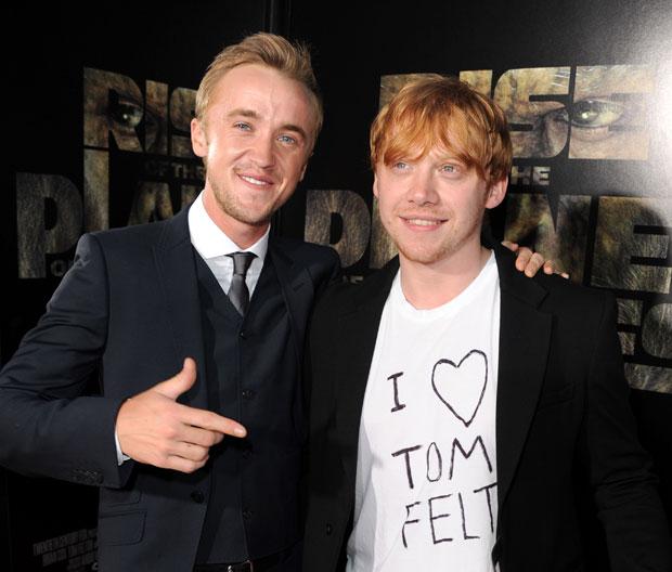 Tom felton emma watson dating