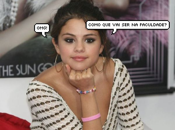 Selena Gomez dúvida balaãozinho