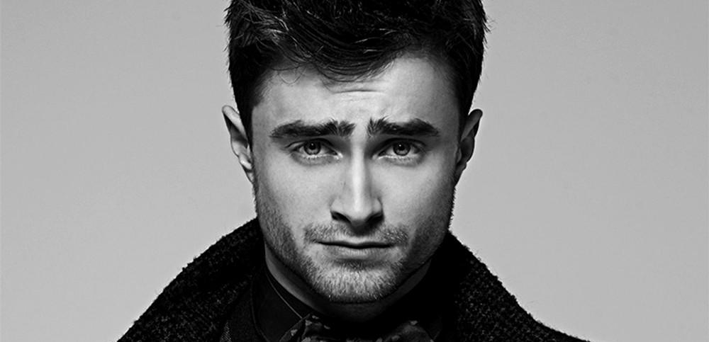 Daniel Radcliffe preto e branco