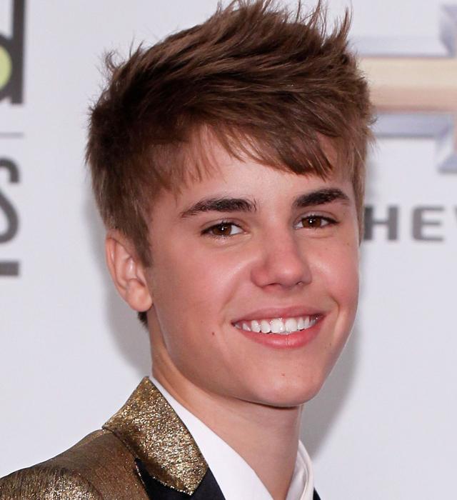Justin Bieber cabelo de 2011