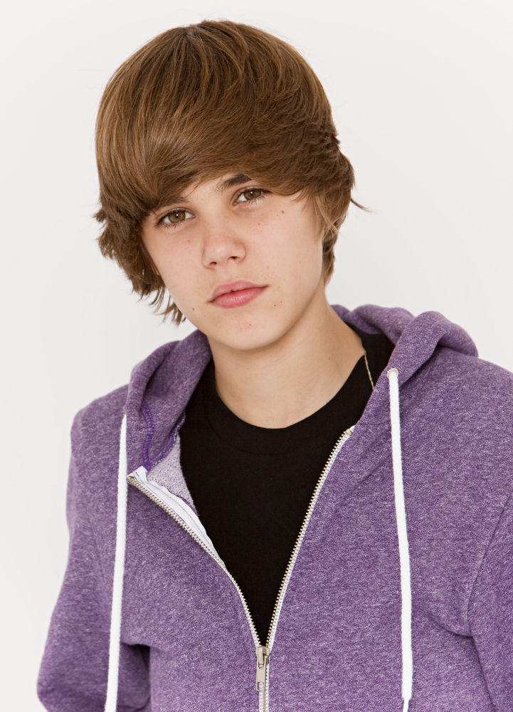 Justin Bieber cabelo de 2009