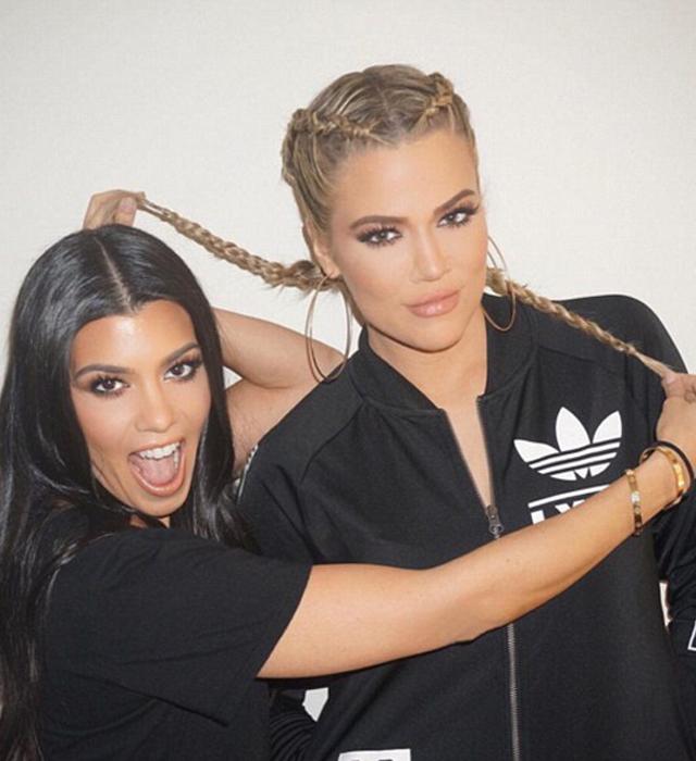 khloe kardashian boxer braid