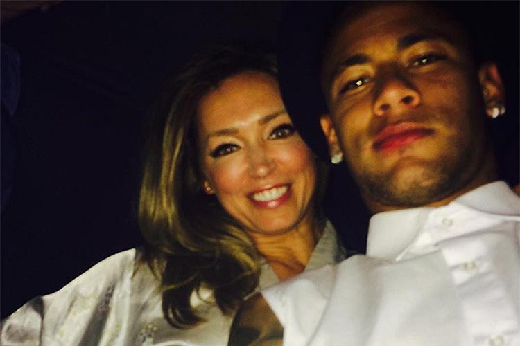 neymar e modelo