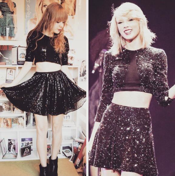 Fã recria looks de Taylor Swift