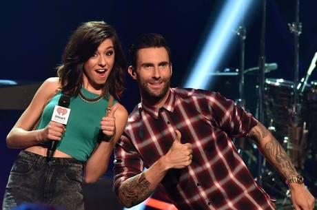 Adam Levine e Christina Grimmie