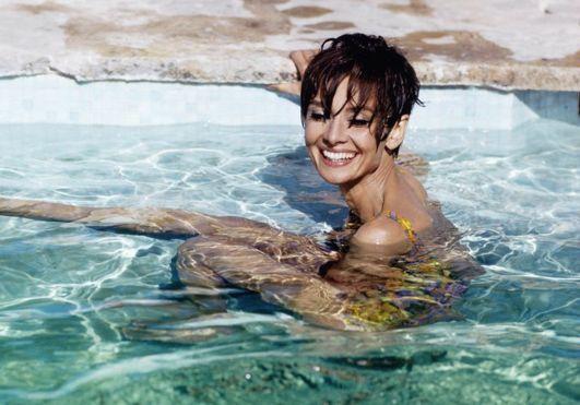 Audrey Hepburn foto rara de terry o neil