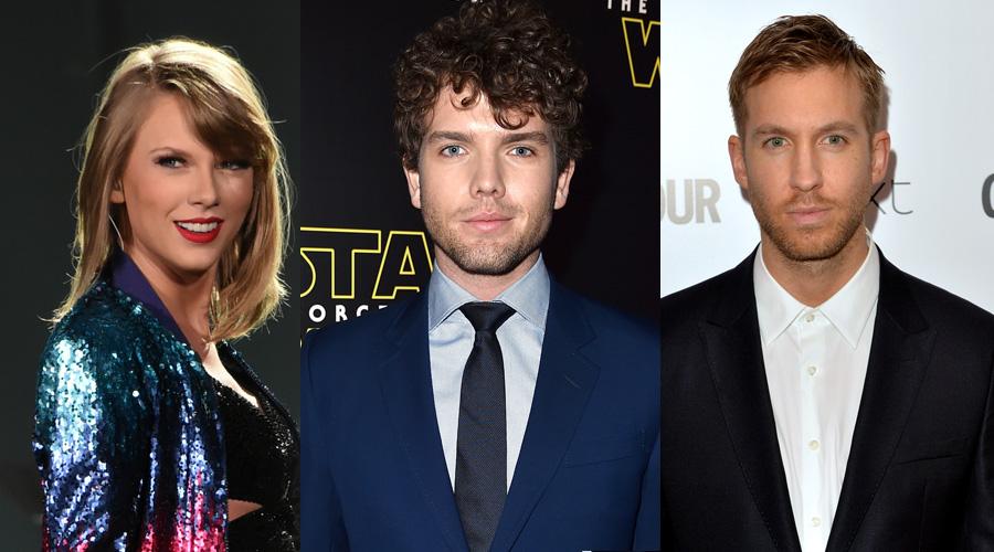 Taylor Swift e Austin Swift são seguidos novamente por Calvin Harris