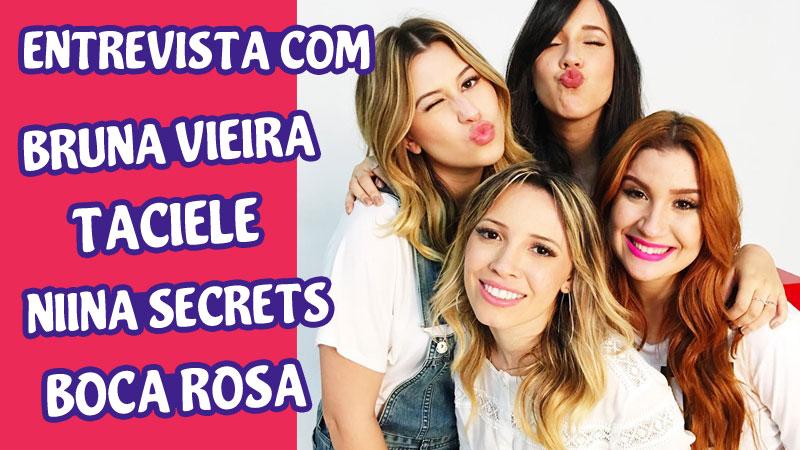 TODATEEN ENTREVISTA: Niina, Taci, Bruna Vieira e Boca Rosa
