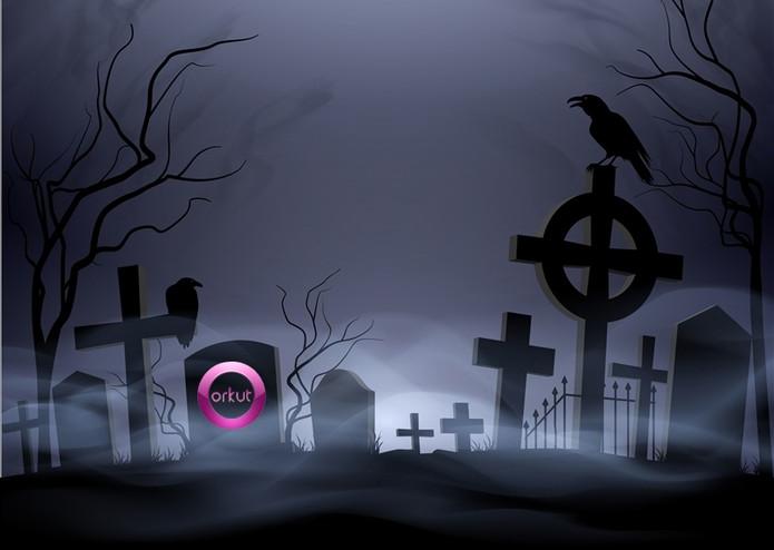 Orkut fim no cemitério