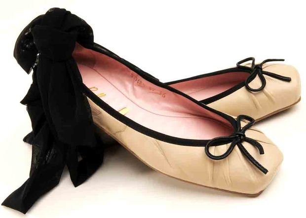 sapatilha balerina amarração preta