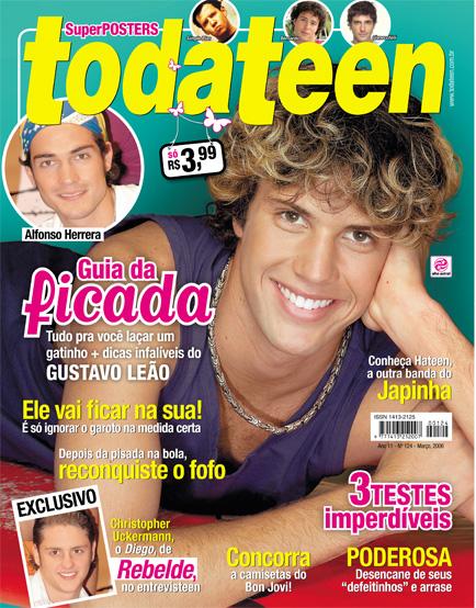 Guilherme Leão capa todateen 2006