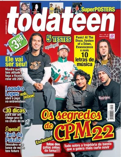 todateen capa cpm22 2006