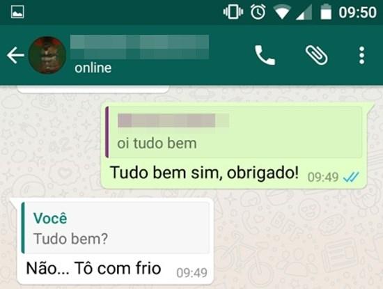Como responder uma conversa específica na conversa em grupo do Whatsapp