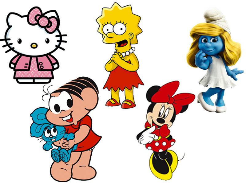 c1b8b2ed1d6 Qual dessas personagens fofas representa você