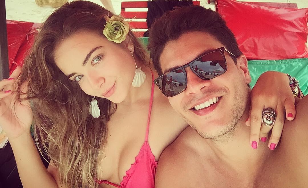 Arthur Aguiar e Camila Mayrink