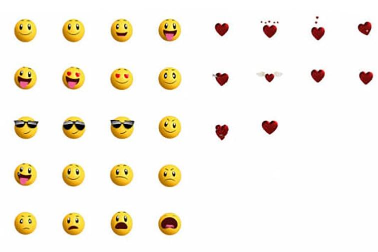 emojis animados para iphone